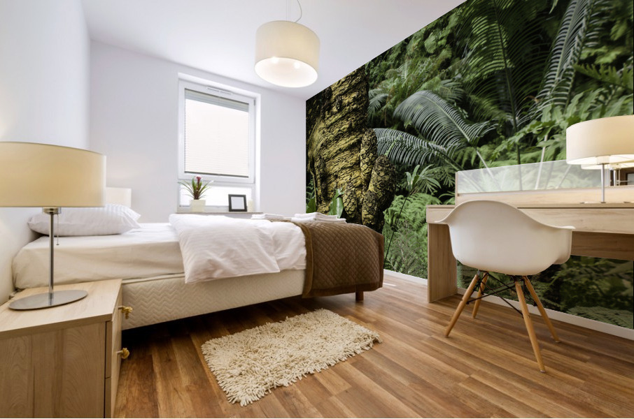 Trees Textures Mural print