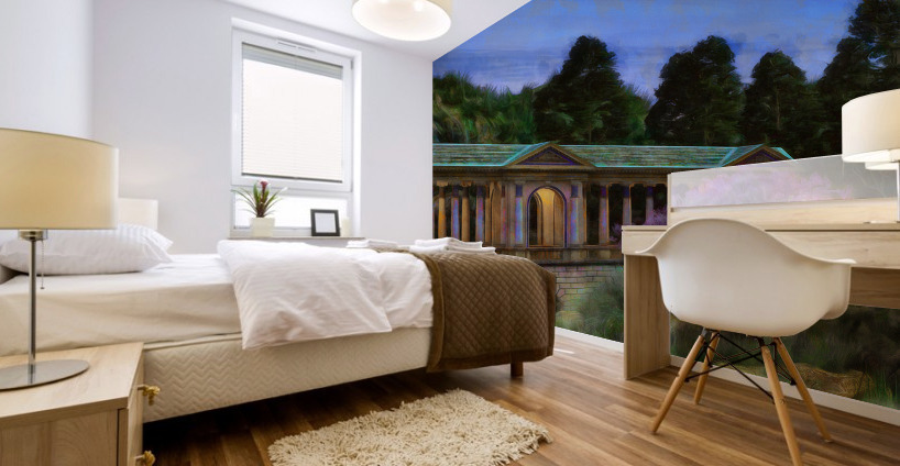The Tranquil Span Mural print