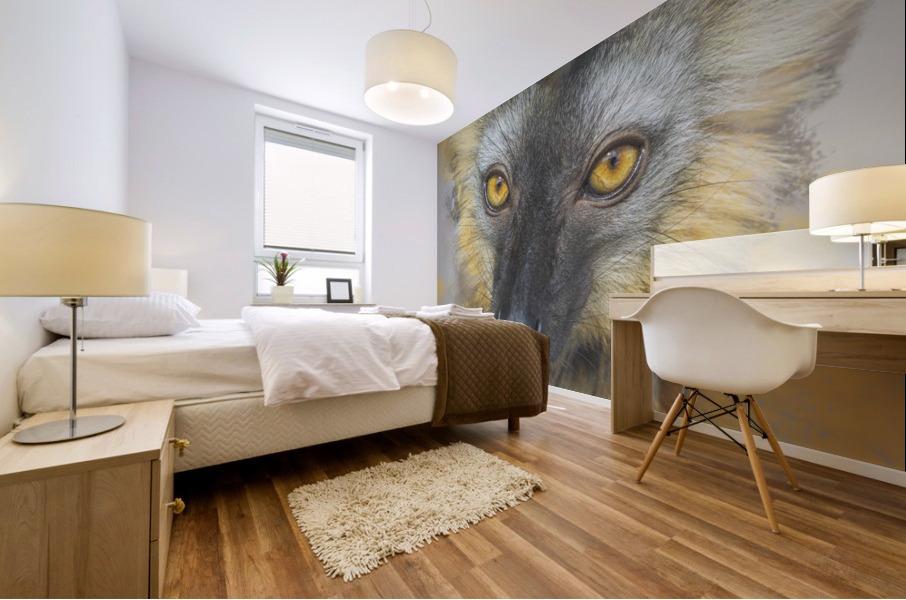 Lemurien Mural print