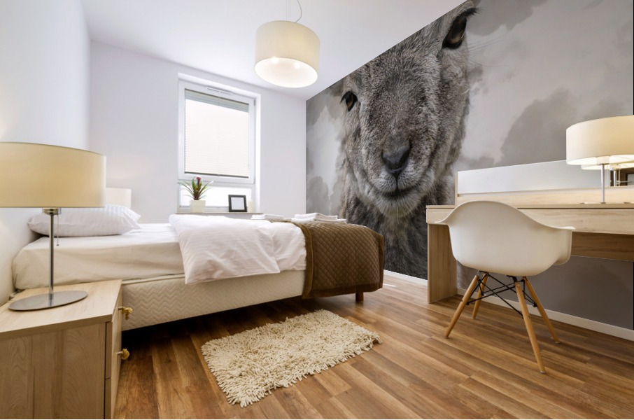 Mouflon Mural print