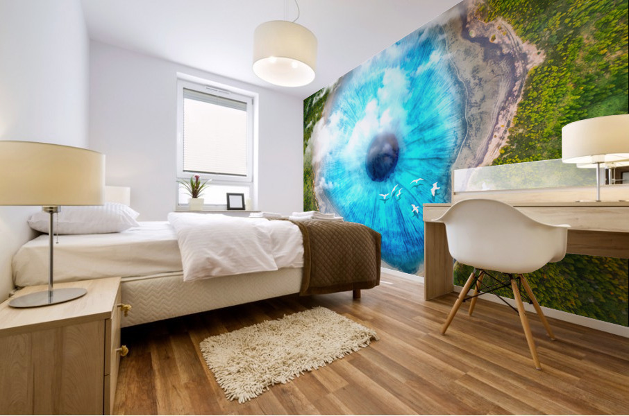 Dream Art XX Surreal Eye Lake Mural print