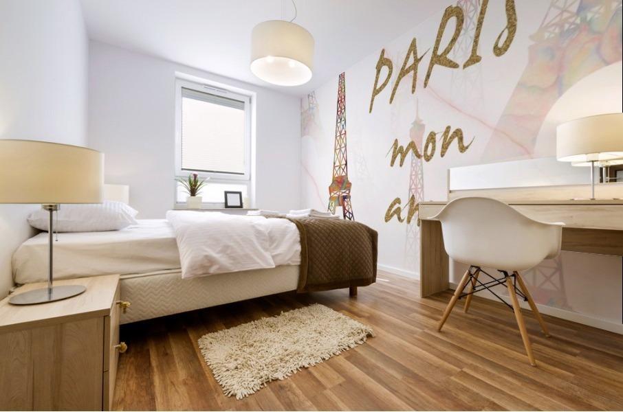 Paris mon amour Mural print
