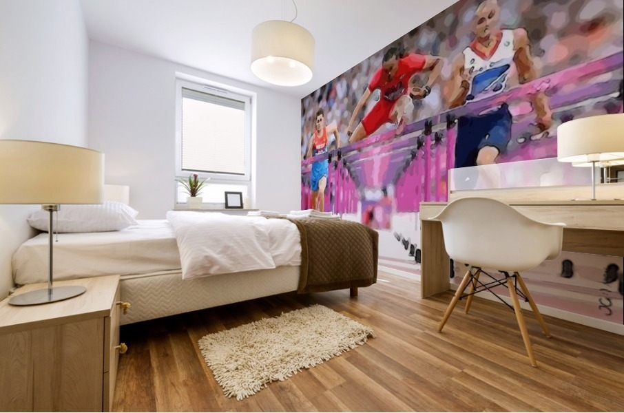 Athletics_58 Mural print