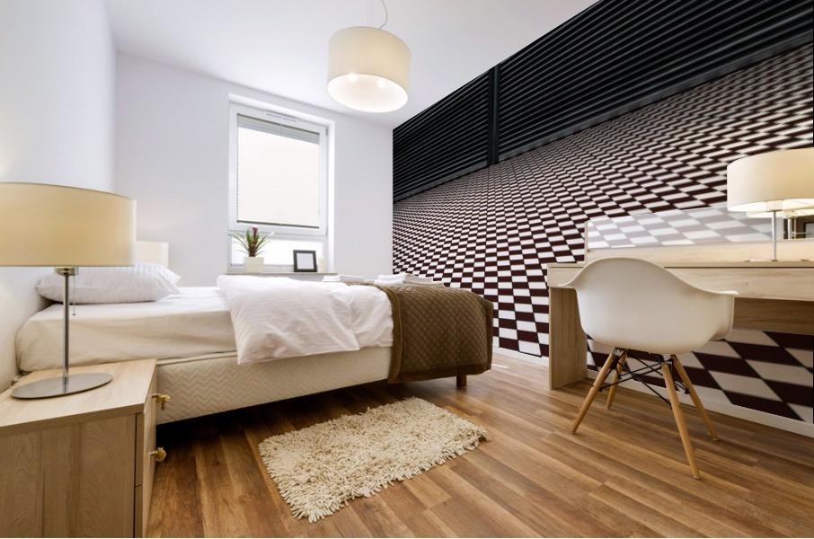 the hypnotic floor Mural print