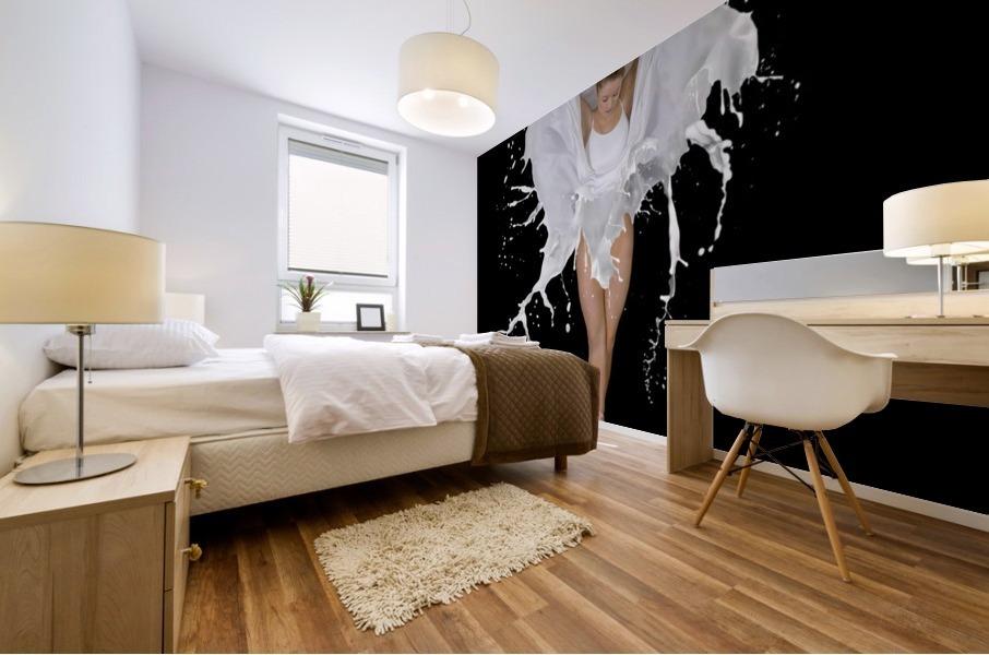 Liquidize Mural print