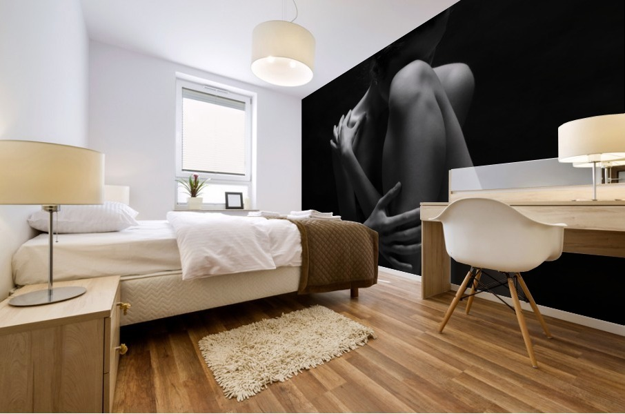 bodyscape Mural print