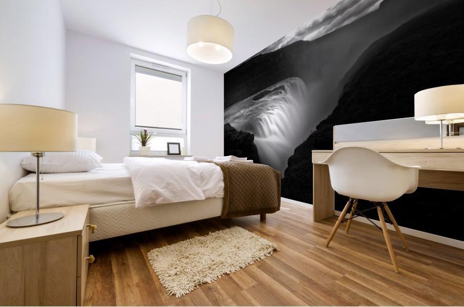 Gullfoss Mural print
