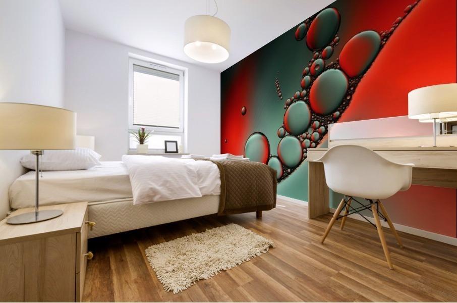 Color adaptation Mural print