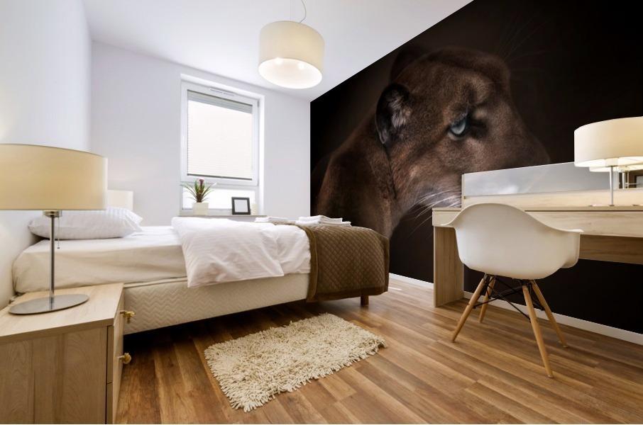 Puma Mural print