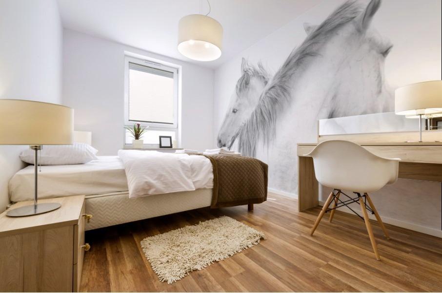 Horses Mural print