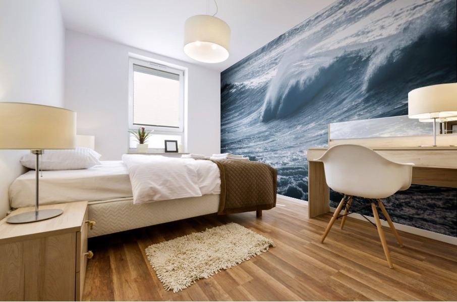 Wave Mural print