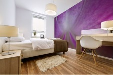 purpletongue2 Mural print