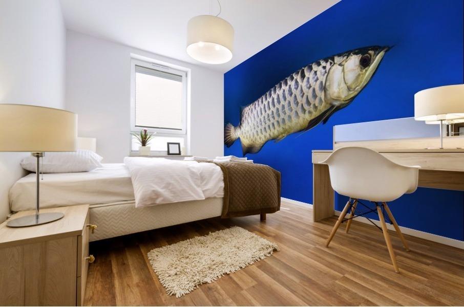 Fish Mural print