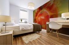 Illustration Of Tomato Mural print