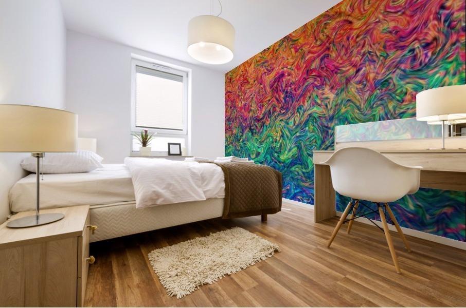 Fluid Colors G249 Mural print