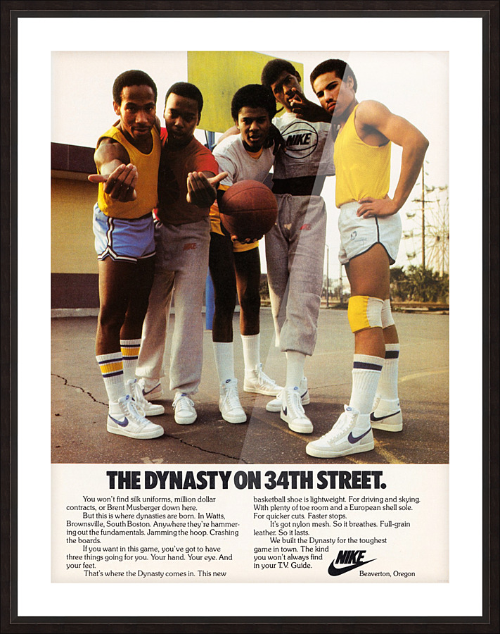 1981 Nike Ad Dynasty On 34th Street Row One Brand