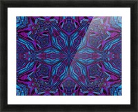 Crystal Flower 3 Picture Frame print