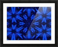 Midnight Flowers Picture Frame print