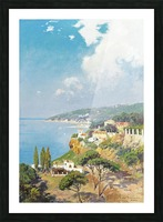 Sunny day on Naples Bay Picture Frame print