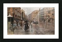 Napoli, Via Toledo Picture Frame print