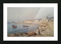 Marina di Napoli Picture Frame print