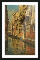 Shining morning in Venice Picture Frame print