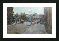 Montmartre Picture Frame print