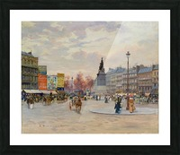 Place of Clichy Picture Frame print