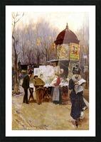 Paris, 1899 Picture Frame print