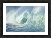 Huge Wave Curling, Crashing Side View Of Curl C1723 Picture Frame print