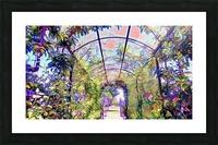 Homeless Alliance Pantry Garden. okc Picture Frame print