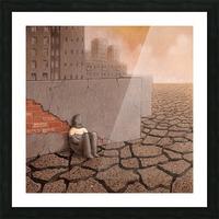 Dead City Picture Frame print