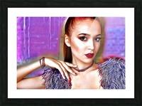 Pretty Lady Picture Frame print