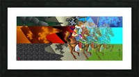 A Return thro' Space & Time Picture Frame print