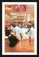 Cafe de Paris Picture Frame print
