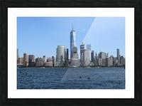 MANHATTAN, NEW YORK Picture Frame print
