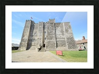 DOVER CASTLE, UK Picture Frame print