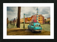 Venice Stopped Picture Frame print