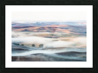 Misty Morning Impression et Cadre photo