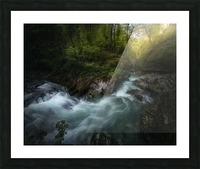 Gorge 1. Picture Frame print