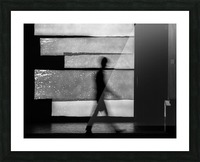 in squares Picture Frame print