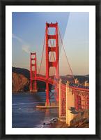 Golden Gate Bridge; San Francisco, California, United States of America Picture Frame print