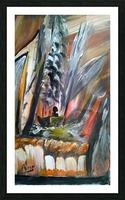 abstact canvas acrylic  Impression et Cadre photo