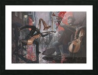 Life is a Dance in The Rain V Picture Frame print