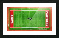 Cabot, AR   Panther Football Field Picture Frame print