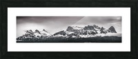 CanmoreWinter Picture Frame print