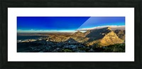 Cape Town's Table Mountain Picture Frame print