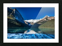 Lake Louise Dock Picture Frame print