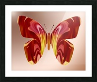 BejeweledButterfly Picture Frame print