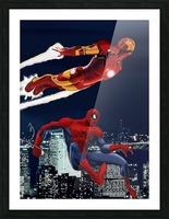 Marvel: Iron Man & Spider-Man Picture Frame print